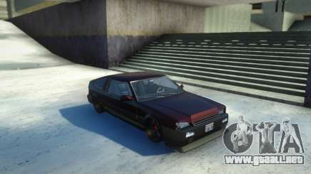 Blista Compact Low para GTA San Andreas