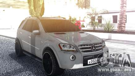 Mercedes-Benz ML 63 AMG Stock para GTA San Andreas