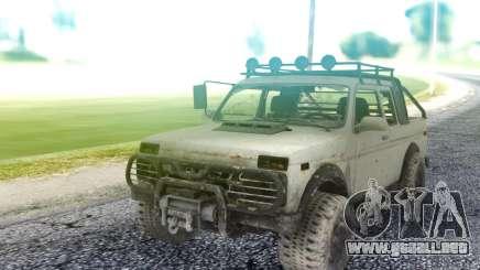 Niva 2121 4x4 para GTA San Andreas
