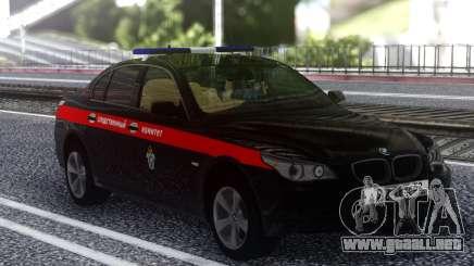 El BMW M5 E60, el Comité de Investigación de la Federación de rusia para GTA San Andreas