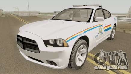 Dodge Charger 2013 SASP RCMP para GTA San Andreas
