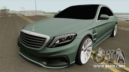 Mercedes-Benz S-Class W222 WALD Black Bison para GTA San Andreas