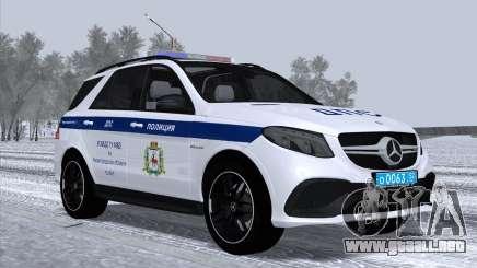 Mercedes-Benz AMG GLE 63S UGIBDD MVD GU para GTA San Andreas