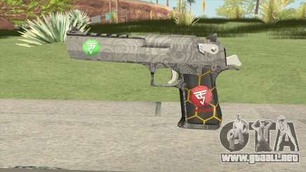 Desert Eagle (Special Troop) para GTA San Andreas