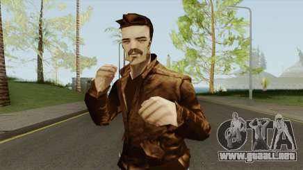 New Claude (GTA III Style) para GTA San Andreas