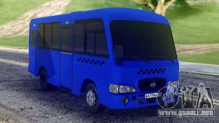 Hyundai County SWB Bus para GTA San Andreas