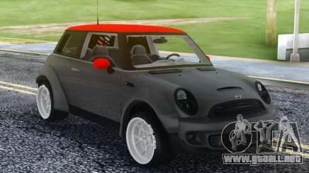 Mini Cooper S Red Roof para GTA San Andreas