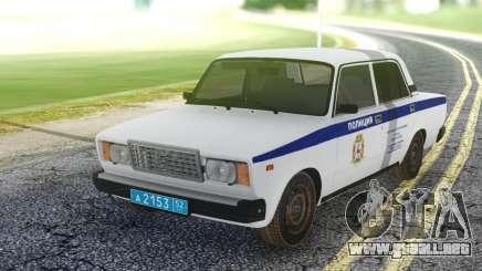 2107 PDL representante de la Policía local para GTA San Andreas