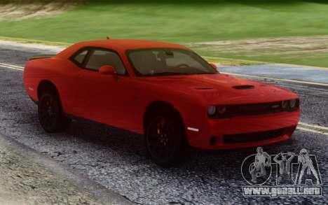 Dodge Hellcat Stock para GTA San Andreas