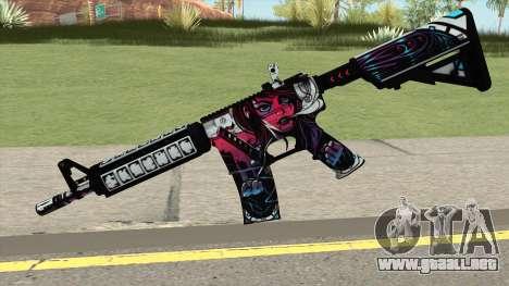 CSGO M4A4 Neo Noir para GTA San Andreas