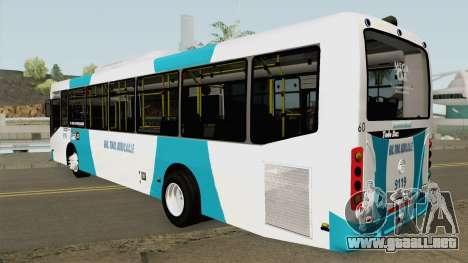 Todobus Pompeya II Agrale MT15 Linea 25 Interno para GTA San Andreas