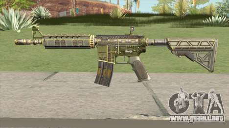 CS-GO M4A4 The Battlestar para GTA San Andreas