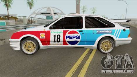 Ford Sierra RS Cosworth Pepsi Edition 1986 para GTA San Andreas