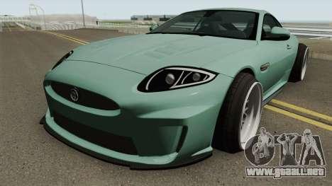 Jaguar XKR-S Stance para GTA San Andreas