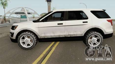 Ford Explorer 2018 para GTA San Andreas