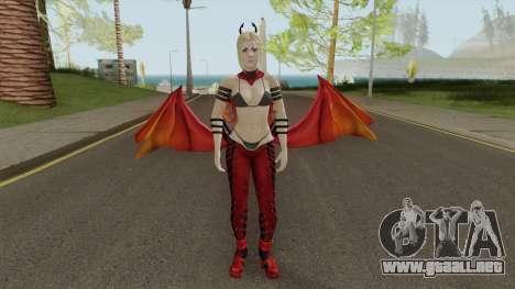 Supergirl Fury Outfit para GTA San Andreas