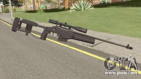 SAKO TRG-42 Sniper Rifle (Black) para GTA San Andreas
