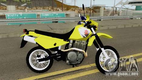 Suzuki DR 650 para GTA San Andreas