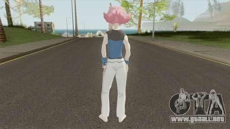 Maylene Pokemon para GTA San Andreas