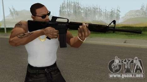 M16A2 Partial Jungle Camo (Ext Mag) para GTA San Andreas