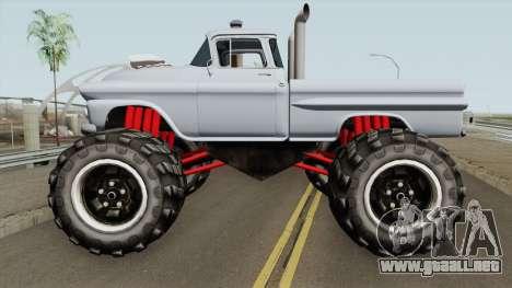 Chevrolet Apache Monster Truck 1958 para GTA San Andreas