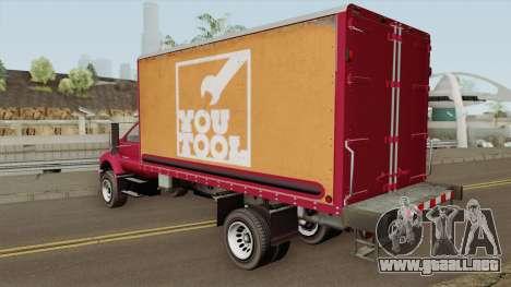 Vapid Yankee 2nd GTA V para GTA San Andreas