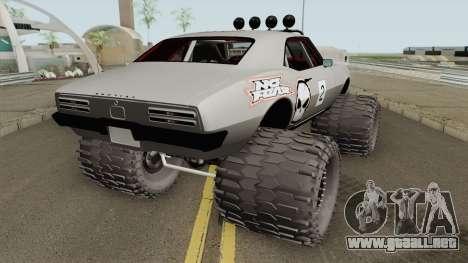 Pontiac Firebird Off Road No Fear 1968 para GTA San Andreas