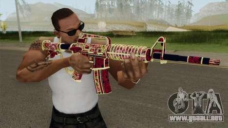 CS:GO M4A1 (Soultaker Skin) para GTA San Andreas