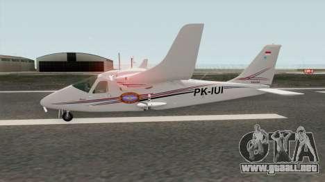 Bandung Pilot Academy Tecnam P2006T para GTA San Andreas