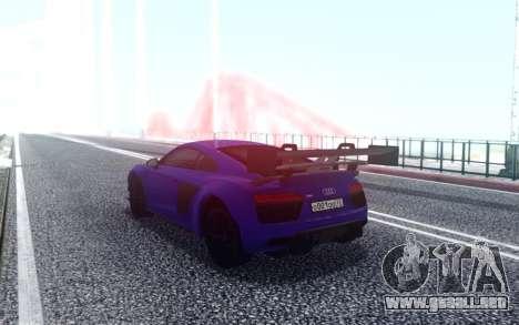 Audi R8 2015 para GTA San Andreas