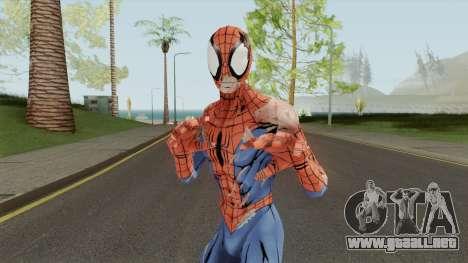 Spider-Man Unlimited - Spider-Man Battle Damage para GTA San Andreas