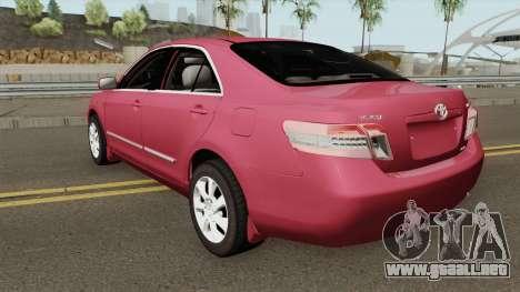 Toyota Camry 2011 Standard (Full 3D) para GTA San Andreas