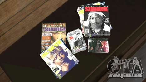 The Source Magazine para GTA San Andreas