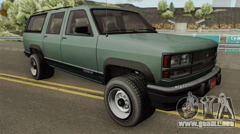 Declasse Granger 3500LX Retro para GTA San Andreas