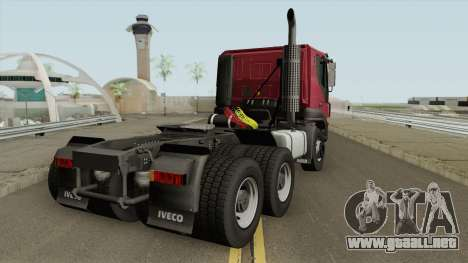 Iveco Trakker E4 2007 V2 para GTA San Andreas