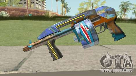 Shotgun (Monster Skin) para GTA San Andreas