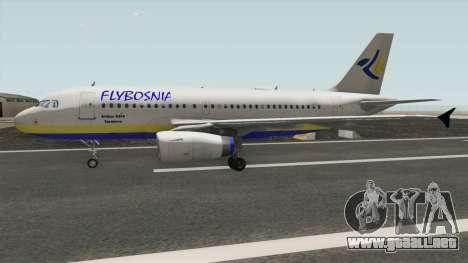 FLYBOSNIA Airbus A319 V1 para GTA San Andreas