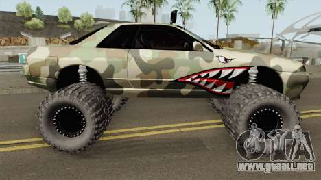 Nissan Skyline R32 Off Road Camo Shark para GTA San Andreas