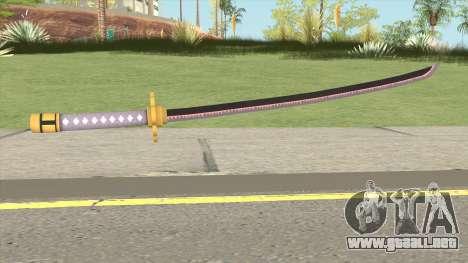 Roronoa Zoro Weapon para GTA San Andreas