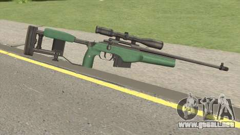 SAKO TRG-42 Sniper Rifle (Green) para GTA San Andreas