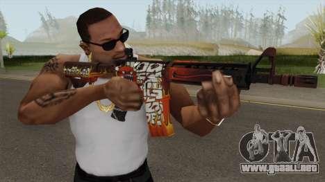 CS-GO M4A4 Hellfire para GTA San Andreas