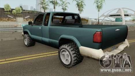 Chevrolet S10 Low Poly Improved Version para GTA San Andreas