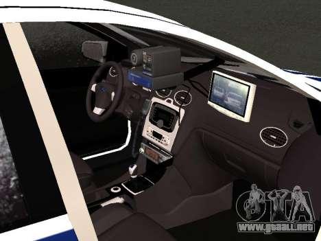 Ford Focus ОБ ГИБДД Edición de Invierno para GTA San Andreas