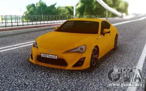 Toyota 86 para GTA San Andreas