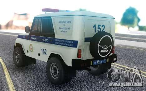 UAZ Hunter DPS para GTA San Andreas