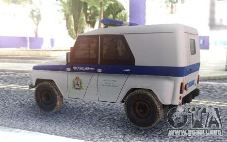 UAZ 3151 Policía para GTA San Andreas