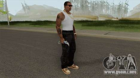 Knife (Monster Skin) para GTA San Andreas