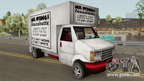 Mr Wongs Laundry Truck (GTA III) para GTA San Andreas