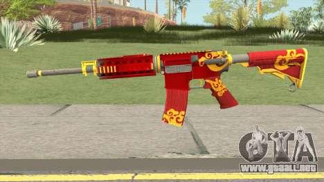Rules Of Survival AR15 Wild Dragon para GTA San Andreas