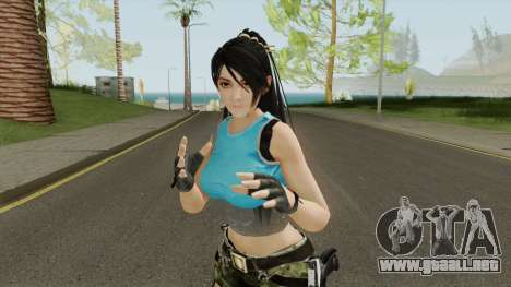 Momiji Adventure From Dead Or Alive 5 para GTA San Andreas